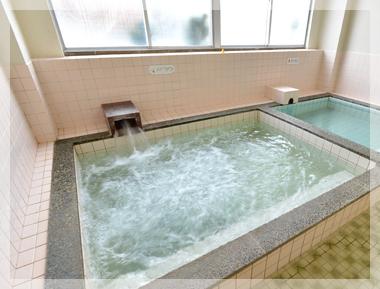 男性用大浴場バイブラバス